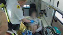 Paramedics on TV3 - Peter and Imelda try to help a man after a heroin overdose on the street