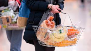 Consumer prices for food are 120pc of the EU average, which means it costs a fifth more here for a basket of food in shops compared with prices across the 28 countries in the union. Stock photo: PA