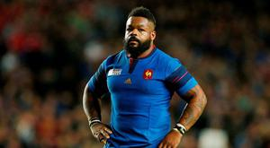 Mathieu Bastareaud has been called into France's Six Nations squad. Photo: Reuters
