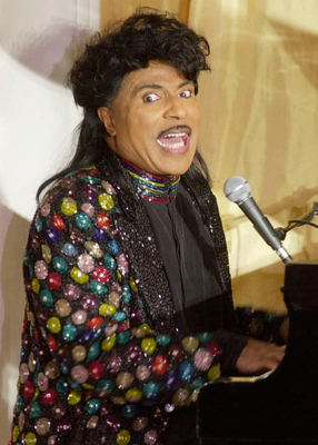 LITTLE RICHARD: Influential rock and roll pioneer