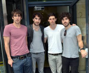 The Coronas prior to Dave McPhillips departure. L-R:mDanny O'Reilly, Conor Egan, Graham Knox, Dave McPhillips
