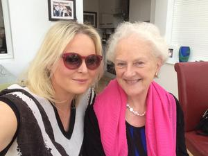 Amanda Brunker and her mother-in-law Moira McLoughlin