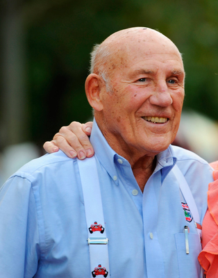 Sir Stirling Moss. Photo: Fiona Hanson/PA Wire.