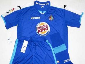 Getafe It looks OK here but you just wait. On the inside of the shirt is the Burgerking King just waiting to burst out in every goal celebration.