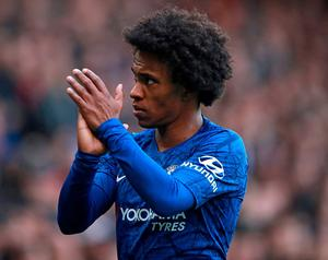 Willian. Photo: PA
