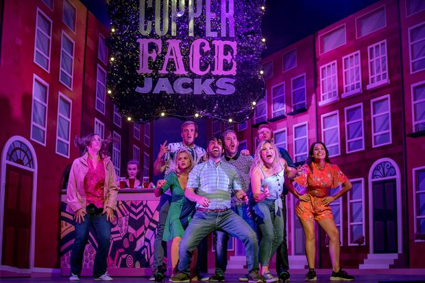 'Copper Face Jacks: The Musical' where 'zillions of culchie-jackeen gags go down a storm'. Picture:Arthur Carron/Julien Behal Photography
