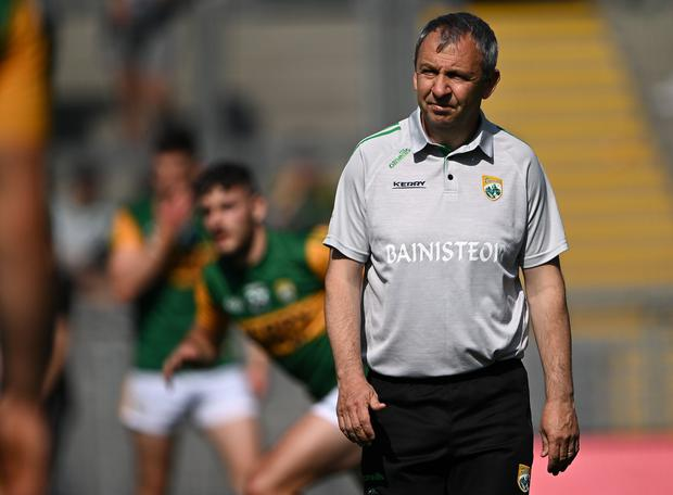 Kerry manager Peter Keane