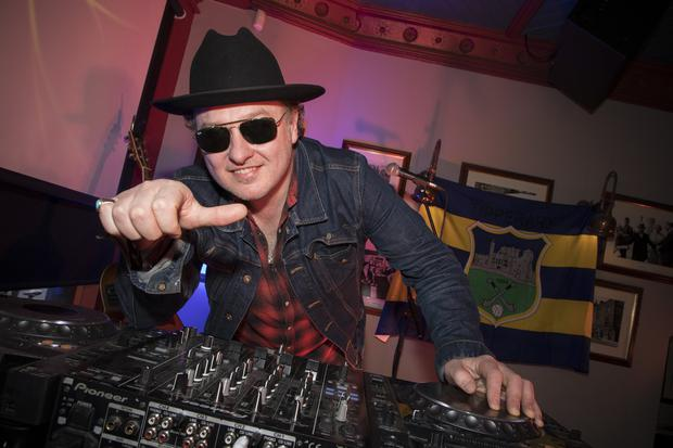 Edmond Enright aka Mundy, Djing at the Tipp Classical 2019 launch at Ryans of Camden Street, Dublin. Photo:Michael Donnelly.