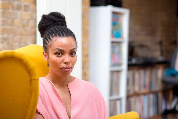 Emma Dabiri, author, TV presenter, model is very much at home in London but she's an Irish girl at heart. Photo: Jonathan Goldberg
