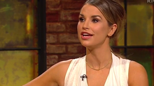 Vogue Williams on Friday's The Late Late Show