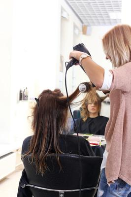 At risk: Small businesses such as hairdressers would suffer with social distancing