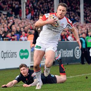 Tommy Bowe has already re-established his place at the top of the pecking order and will be nicely primed by tour time'
