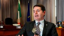 Minister for Transport, Tourism and Sport Paschal Donohoe