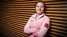 RISING STAR: Irish professional golfer and Davy brand ambassador Leona Maguire. Davy, Ireland's leading wealth management provider, continues to back world class Irish talent and is committed to supporting Leona through her professional career and personal life. Photo: Conor McCabe