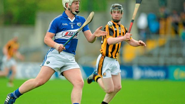 Liam O'Connell in action for Laois