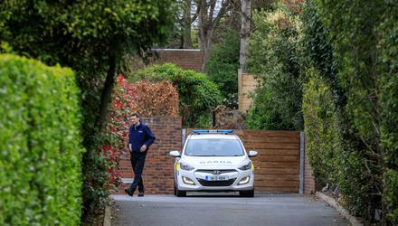 """Gardaí are investigating after a woman's body was found in """"unexplained circumstances"""" at a house in Killiney, Co Dublin. Pic Mark Condren"""