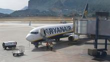 A Ryanair airplane is seen at Palermo Falcone and Borsellino airport, Italy. Photo: REUTERS