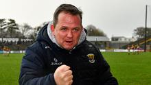Davy Fitzgerald's Wexford have a strong recent record against Kilkenny. Photo by Ray McManus/Sportsfile
