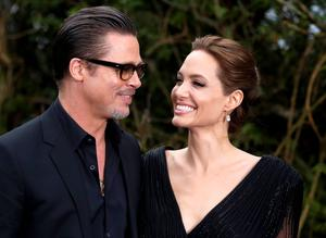 Actor Brad Pitt and actress Angelina Jolie earlier this year