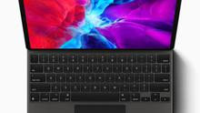 Apple has unveiled an updated iPad Pro and a new laptop-style keyboard trackpad to go with it