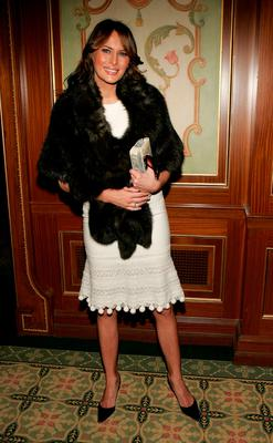 Melania Trump attends the 17th Annual Women of the Year Luncheon at The Pierre October 26, 2005 in New York City.  (Photo by Paul Hawthorne/Getty Images)