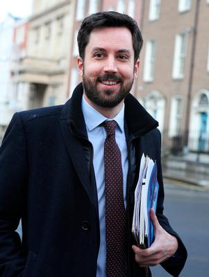 Sought help: Eoghan Murphy. Photo: Tom Burke
