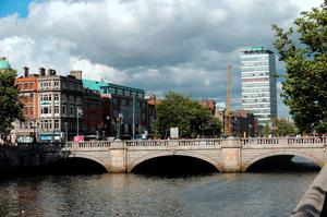 Mystery surrounds the sale of 13 apartments, just a five-minute bike ride from O'Connell Bridge, which were bought last month for just over €50,000 each.