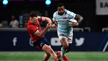 Munster are facing Champions Cup elimination after a heavy defeat to Racing 92 in Paris. (Photo by ANNE-CHRISTINE POUJOULAT/AFP via Getty Images)