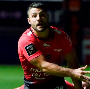 Jonathan Pelissie helped Toulon on their way to victory