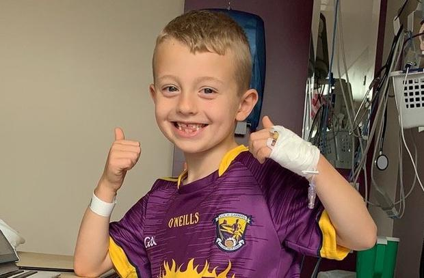 'Smiles his way through life': Tommy Kinsella (7) from Wexford