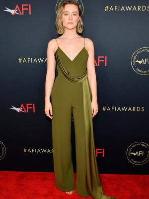 Saoirse Ronan attends the 20th Annual AFI Awards at Four Seasons Hotel Los Angeles at Beverly Hills on January 03, 2020 in Los Angeles, California. (Photo by Amy Sussman/Getty Images for AFI) **BESTPIX**
