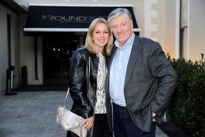 Pat Kenny pictured with his wife Kathy. Picture: Arthur Carron