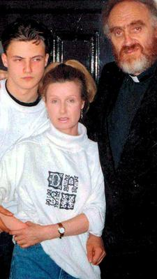 Ross, Phyllis and Fr Michael Cleary