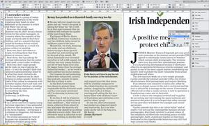 The letter was published in yesterday's Irish Independent