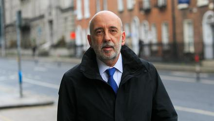 Governor of the Central Bank of Ireland Gabriel Makhlouf insisted that the current high inflation rate was transitory. Photo:Gareth Chaney/Collins