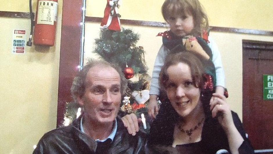 Martin McCarthy and wife Rebecca with their daughter Clarissa. McCarthy drowned Clarissa and then himself in March, 2013. The two were buried together in Schull, west Cork.