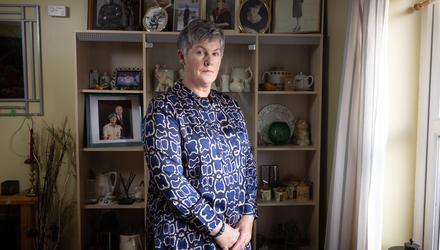 Karina Molloy was one of the first 40 female recruits to the forces in 1981. She was later bullied and sexually assaulted. Photo: Joe Dunne