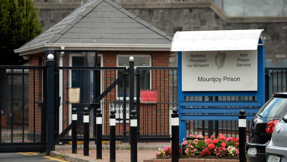 General view of entrance to Mountjoy prison, off North Circular road, Dublin. Picture: Caroline Quinn