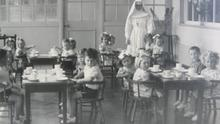 An image from Sean Ross Abbey mother and baby home in Tipperary in the mid-20th century.