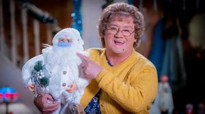Hit show: Brendan O'Carroll in a scene from this year's Mrs Brown's Boys Christmas Special. Photo Alan Peebles