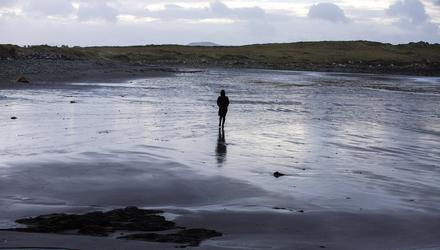 White Strand in Cahersiveen, Co Kerry, where the body of Baby John was washed up in 1984. Photo: Mark Condren