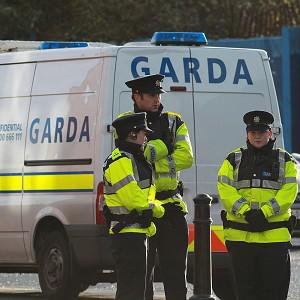 Gardai have arrested a suspect after an elderly man and his daughter were beaten with a hammer during a robbery