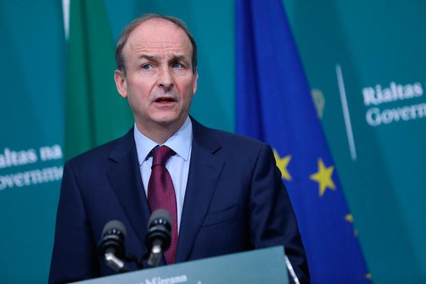 Taoiseach Micheál Martin. Photo: Julien Behal/PA Wire