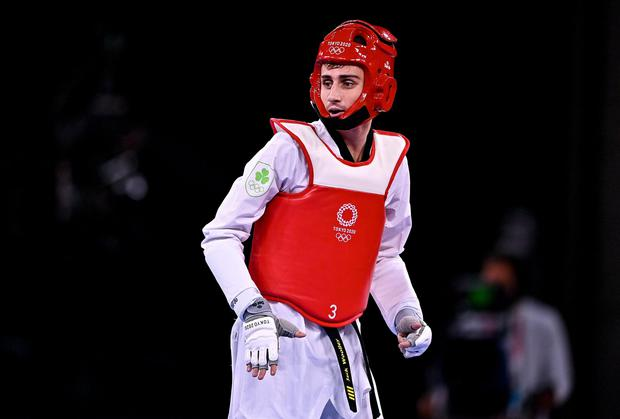 Jack Woolley in competition at the Tokyo Olympics. Picture: Sportsfile