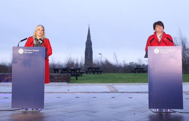 Sinn Féin and the DUP have never been further apart and a Border poll would just make that gulf even wider