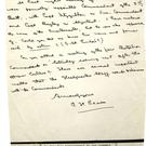 A letter from Patrick Pearse to Eamon de Valera.