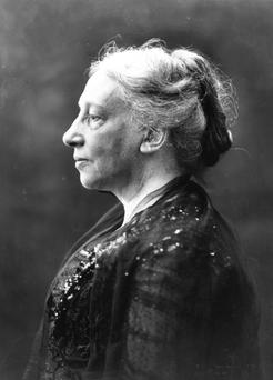 Lady Augusta Gregory, playwright and founder of the Abbey Theatre in Dublin
