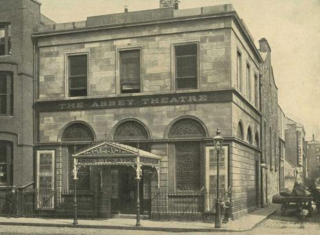 The Old Abbey Theatre in 1913