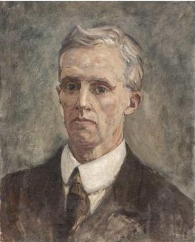 Erskine Childers, by Estella Solomons.