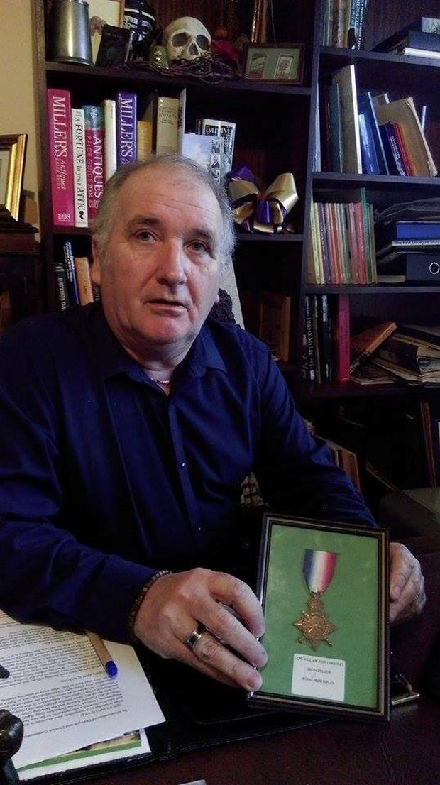 Love conquers all: Peter Thompson came across the ultimate 1916 love story